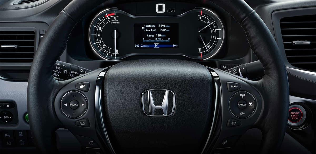 2019 Honda Ridgeline Maintenance Minder