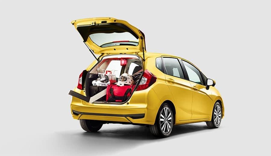Honda Fit Interior Versatility