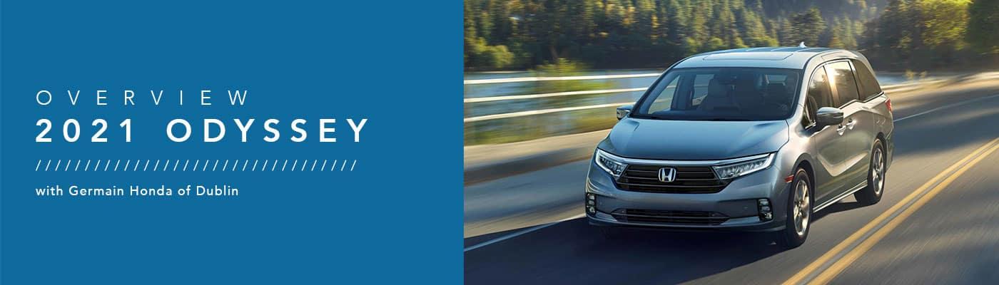 2021 Honda Odyssey Model Overview at Germain Honda of Dublin