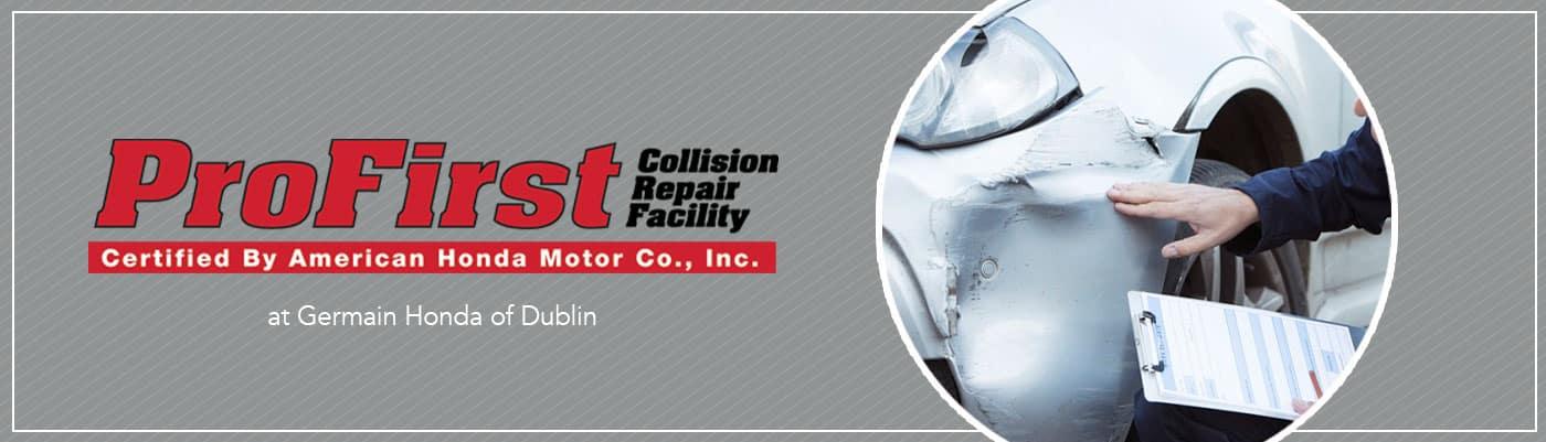 Honda Collision Center - Germain Honda of Dublin