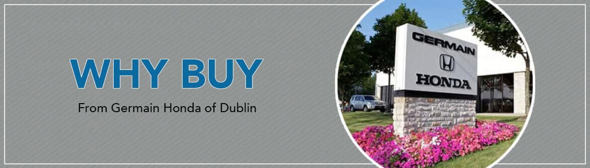 Why Buy From Germain Honda of Dublin
