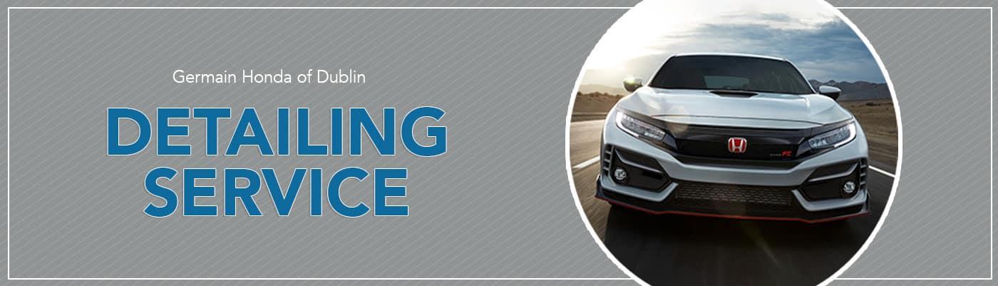 Honda Detailing Services - Germain Honda of Dublin