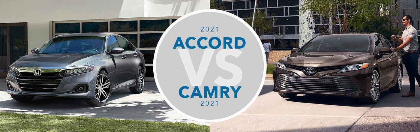 Honda Accord vs Toyota Camry at Germain Honda of Dublin