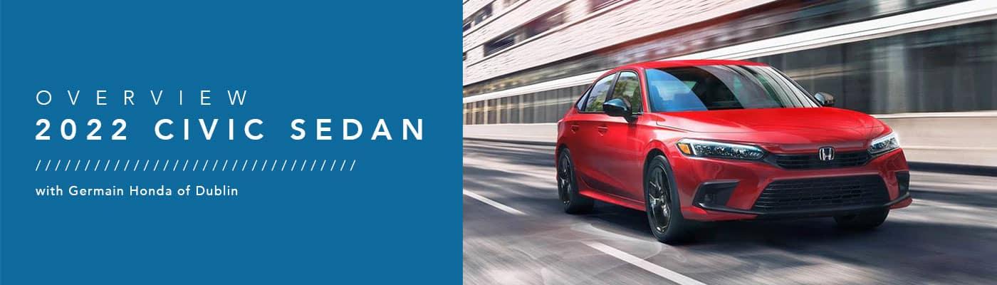 2022 Honda Civic Sedan Model Overview - Germain Honda of Dublin