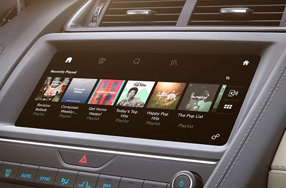 2019 Jaguar E-PACE Infotainment