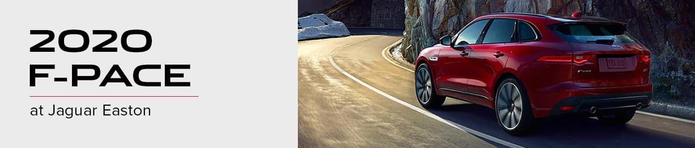 2020 Jaguar F-PACE Model Overview at Jaguar Easton