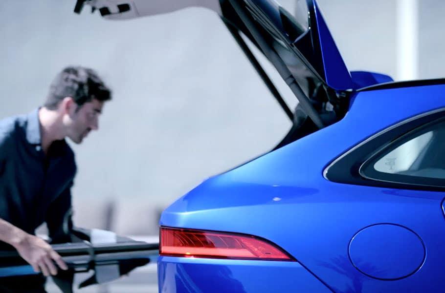2020 Jaguar F-PACE Tailgate