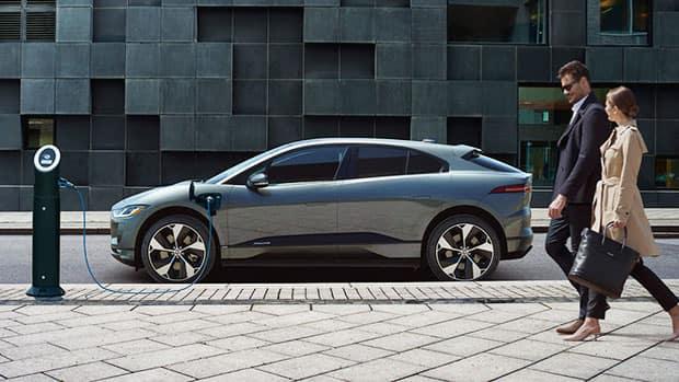 2020 Jaguar I-PACE Charging Station