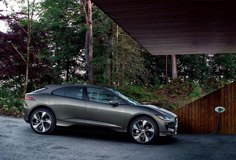 2020 Jaguar I-PACE Charging