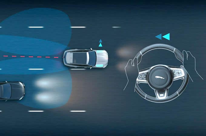 Jaguar Blind Spot Assist