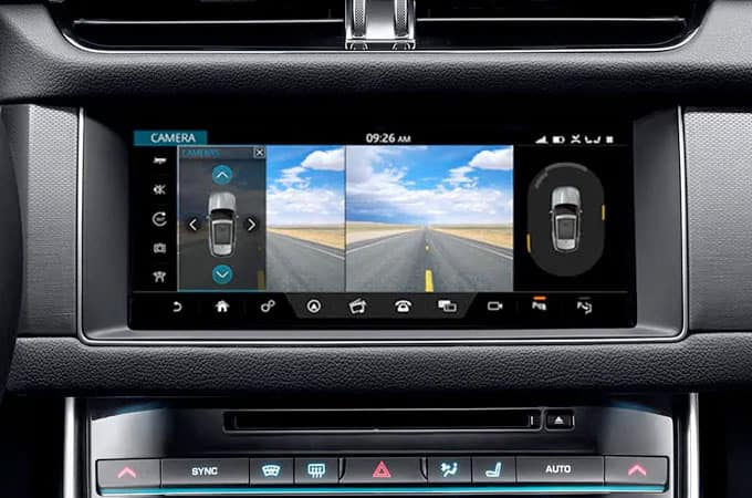 Jaguar Rear View Camera