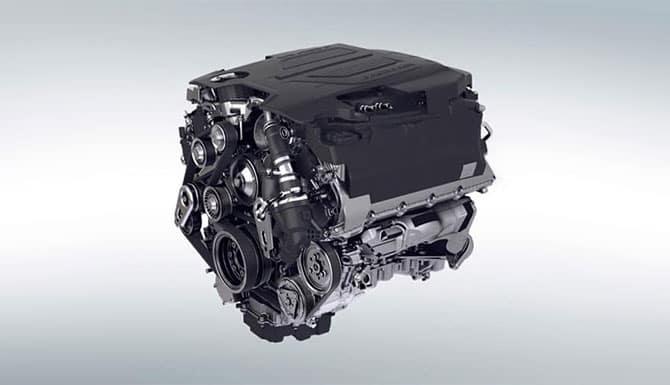 Jaguar F-PACE Ingenium Engine