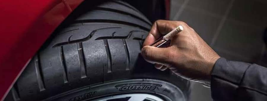 Jaguar Tire Maintenance