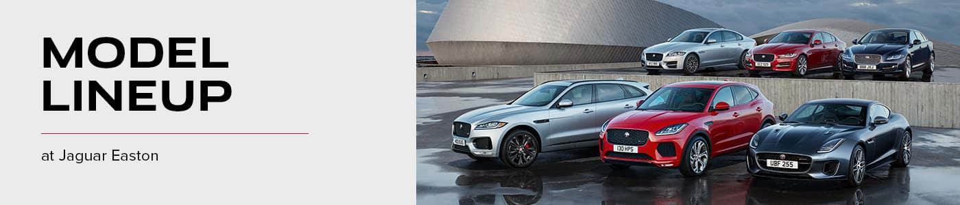 Model Lineup at Jaguar of Easton