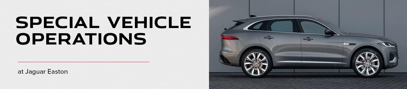 Jaguar SVO Overview - Jaguar Easton
