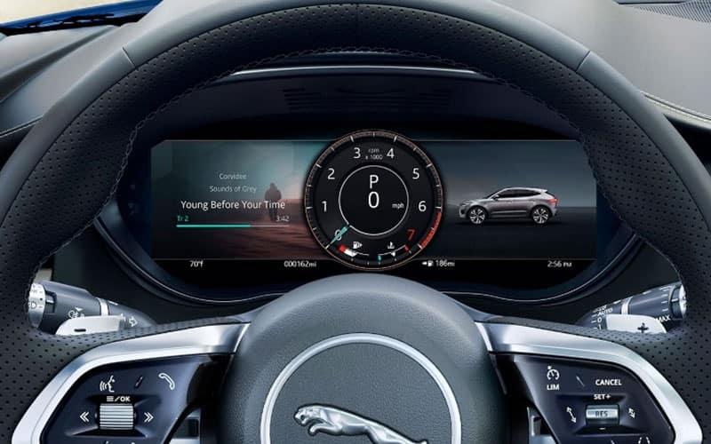 Jaguar E-PACE Instrument Panel