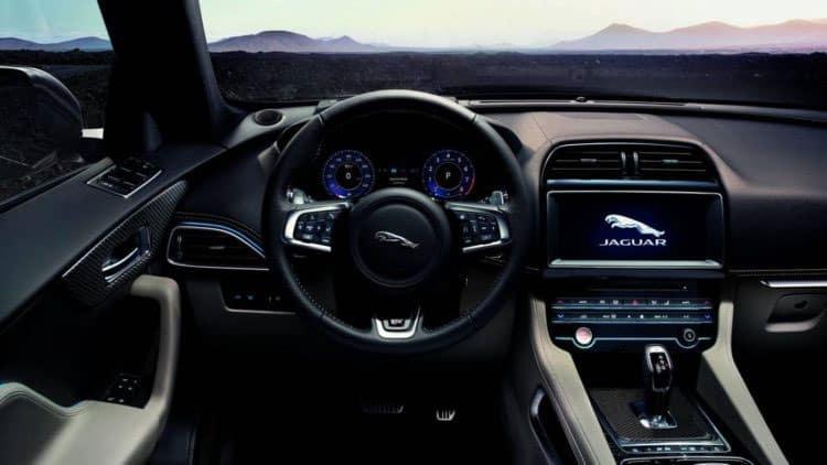Jaguar E-PACE Interior