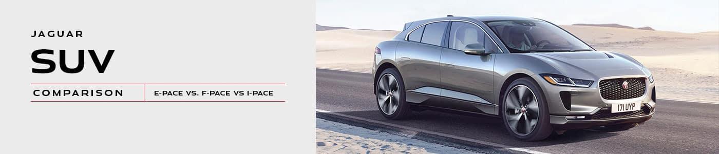 Jaguar SUV Comparison at Jaguar Easton