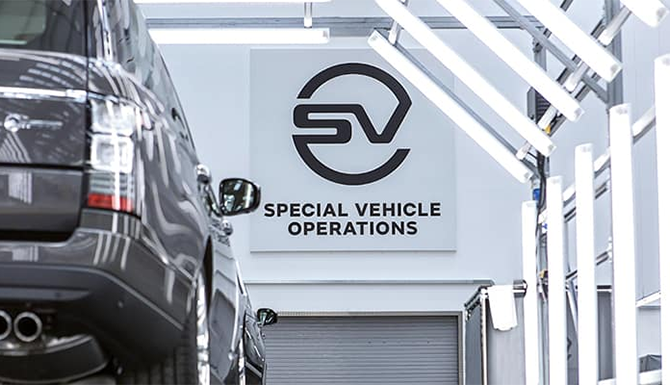 Land Rover Special Vehicle Operations
