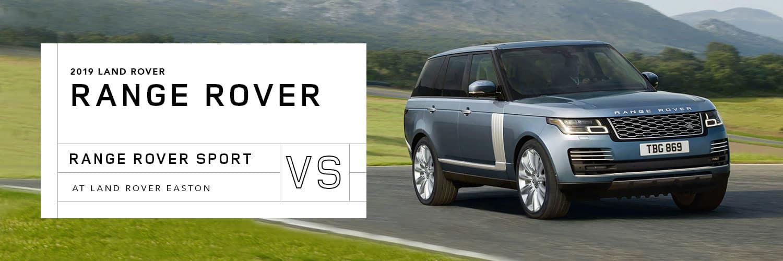 Range Rover vs Range Rover Sport at Land Rover Easton