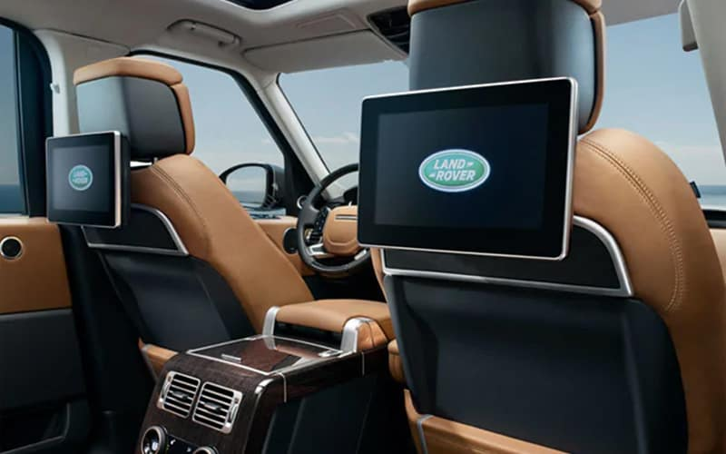 2019 Range Rover Rear Seat Entertainment System