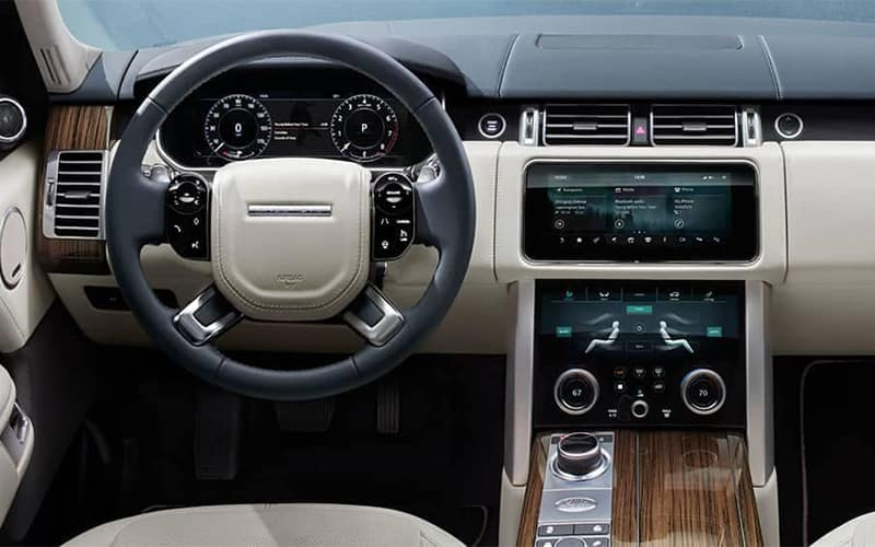 2019 Range Rover Touch Pro Infotainment
