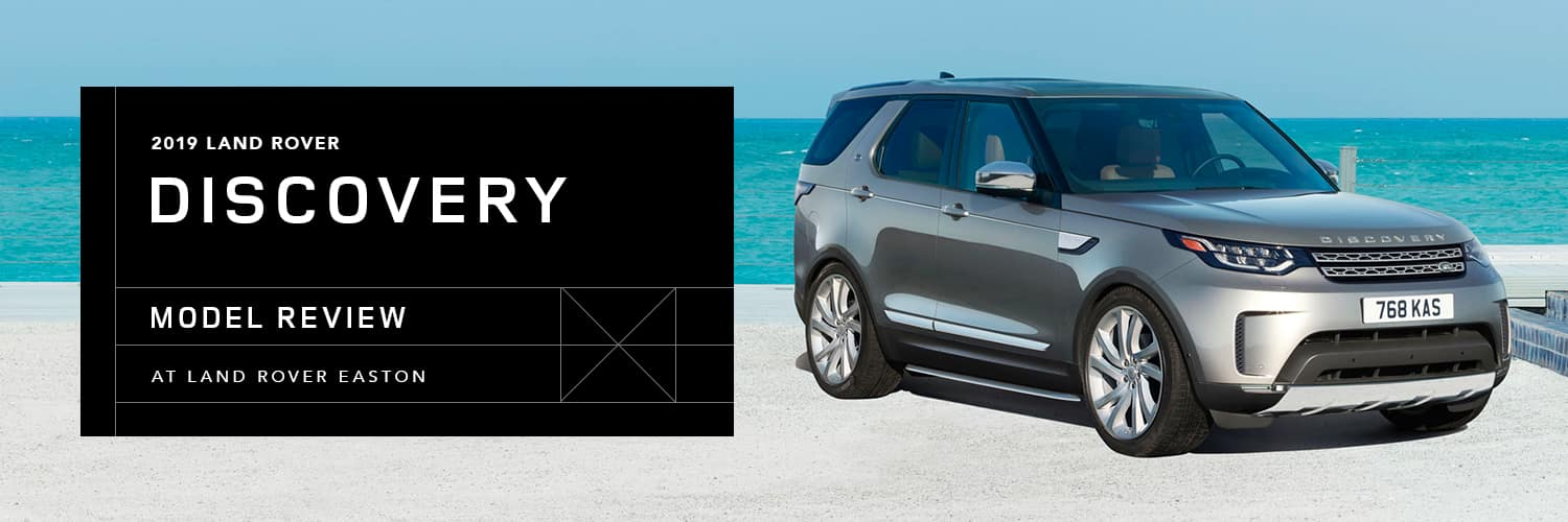 2019 Land Rover Discovery Model Overview at Land Rover Easton