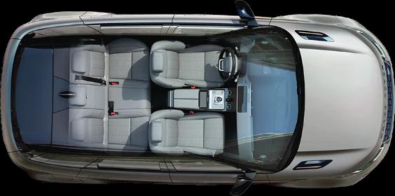 Range Rover Evoque Overhead