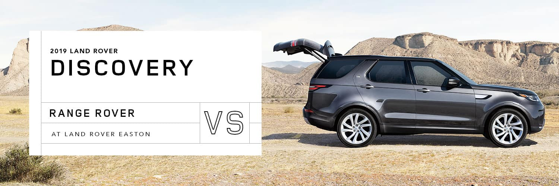 Land Rover Discovery vs Range Rover at Land Rover Easton