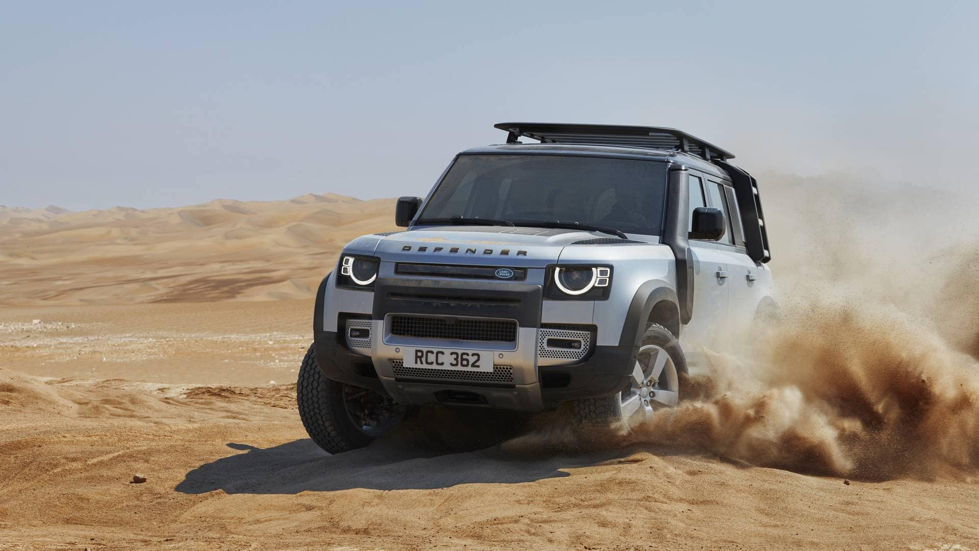 Land Rover Defender Capability