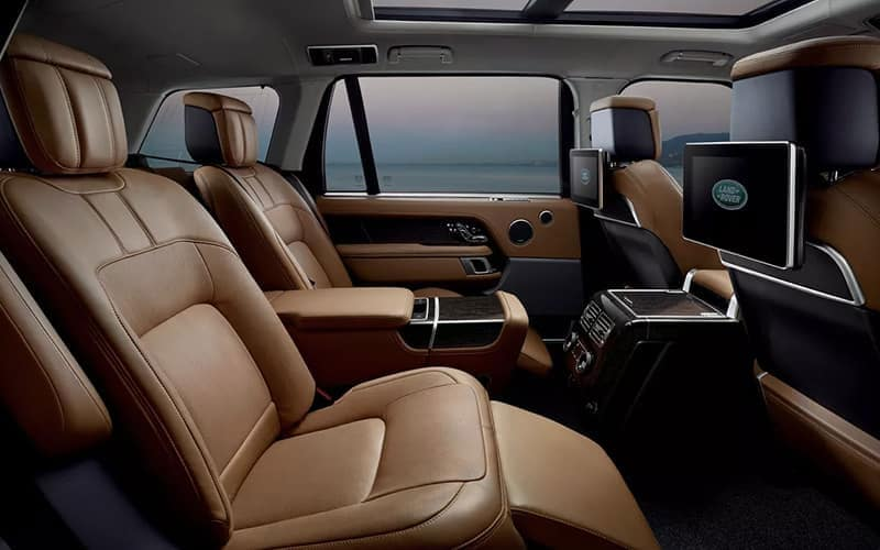 2021 Range Rover Executive Rear Seating
