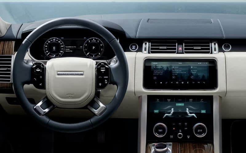 2021 Range Rover Technology