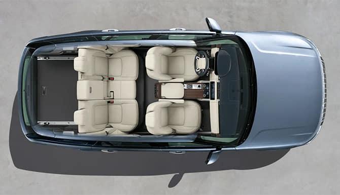 Range Rover Overhead
