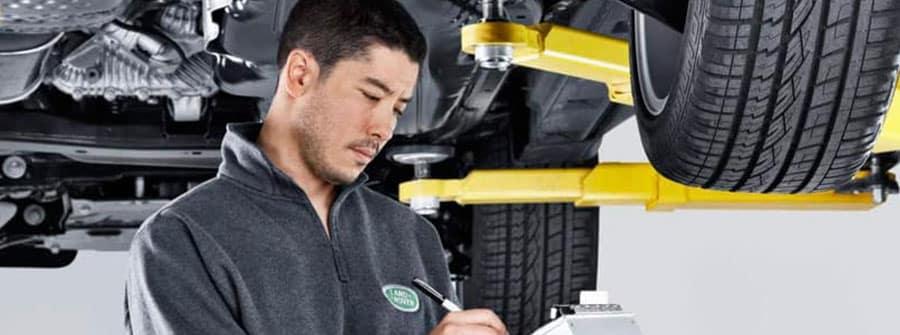 Land Rover Technician