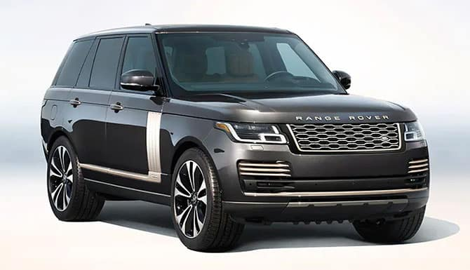 2021 Range Rover Autobiography Fifty Edition