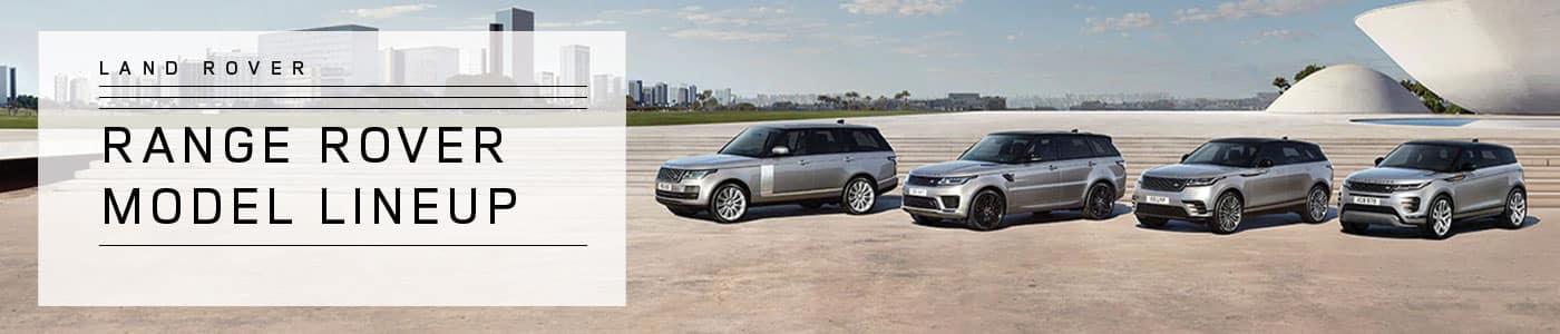 Range Rover Model Lineup