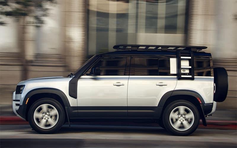 Land Rover Defender 100 Side Profile