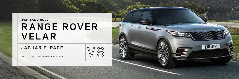 Land Rover Range Rover Velar vs. Jaguar F-PACE at Jaguar Easton