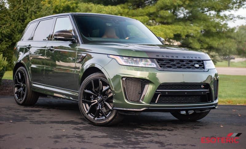 Land Rover Esoteric Ceramic Coatings
