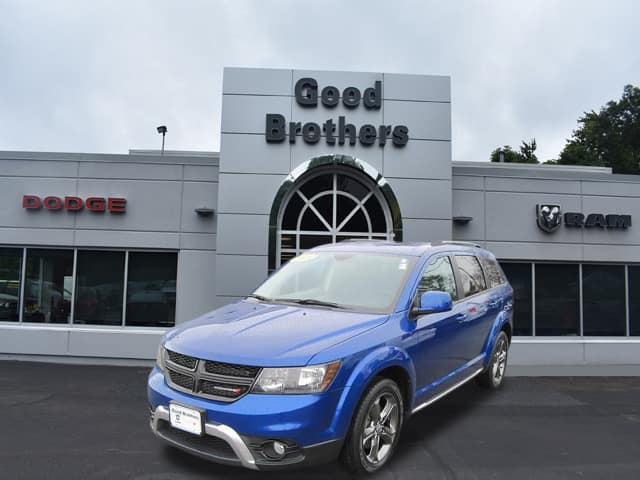 CERTIFIED PRE-OWNED 2015 DODGE JOURNEY CROSSROAD FWD SPORT UTILITY
