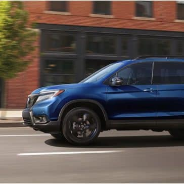 Honda_Passport_Driving_In_City