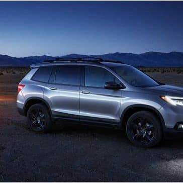Honda_Passport_Parked_Great_Plains_At_Night