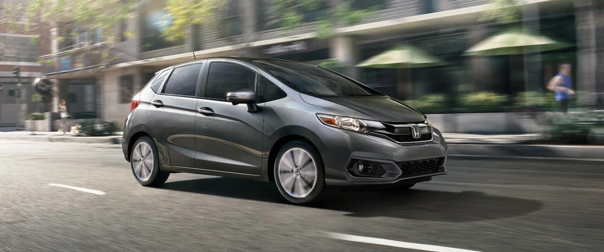 Honda_Fit_Driving_In_City