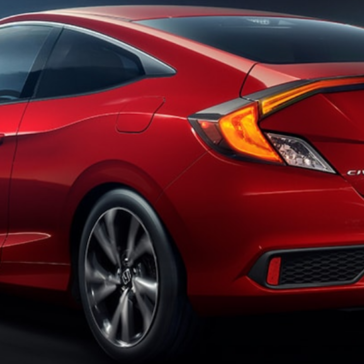 Civic coup Exterior Rear