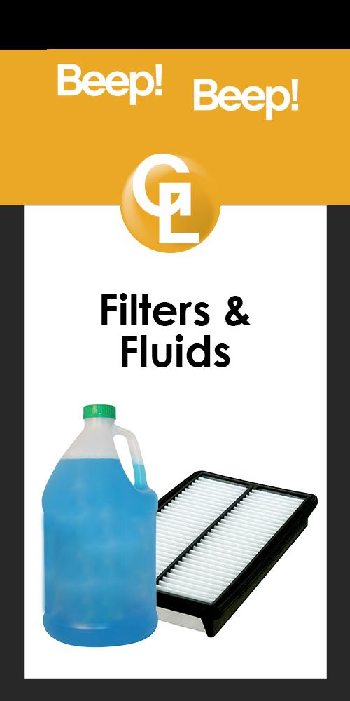 gl filter and fluids