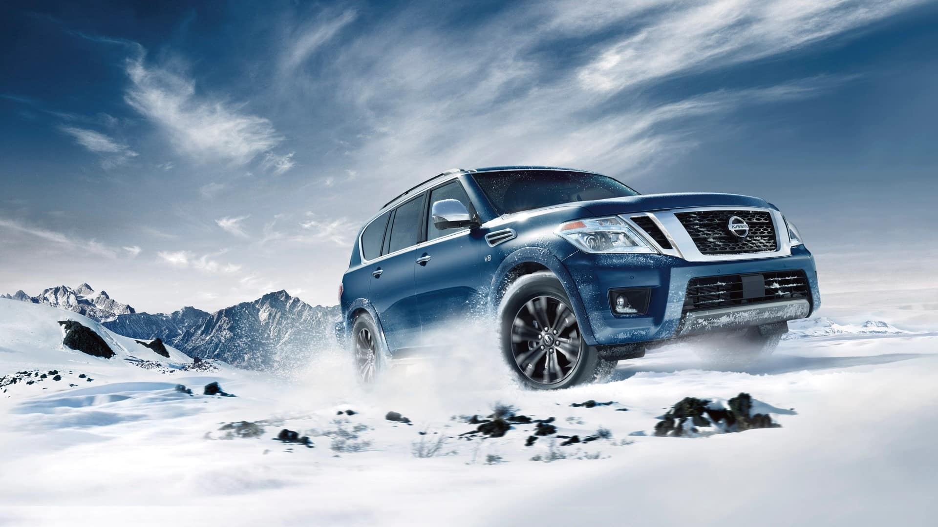 Armada_Snow_Driving