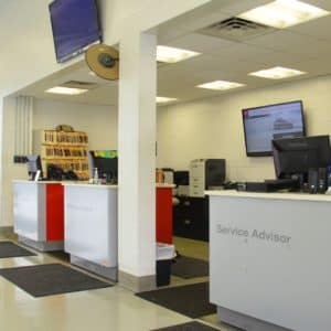 nissan service counter
