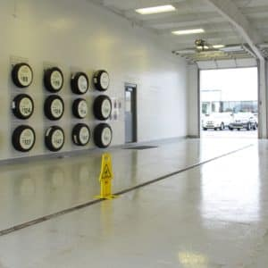 drive in service bay