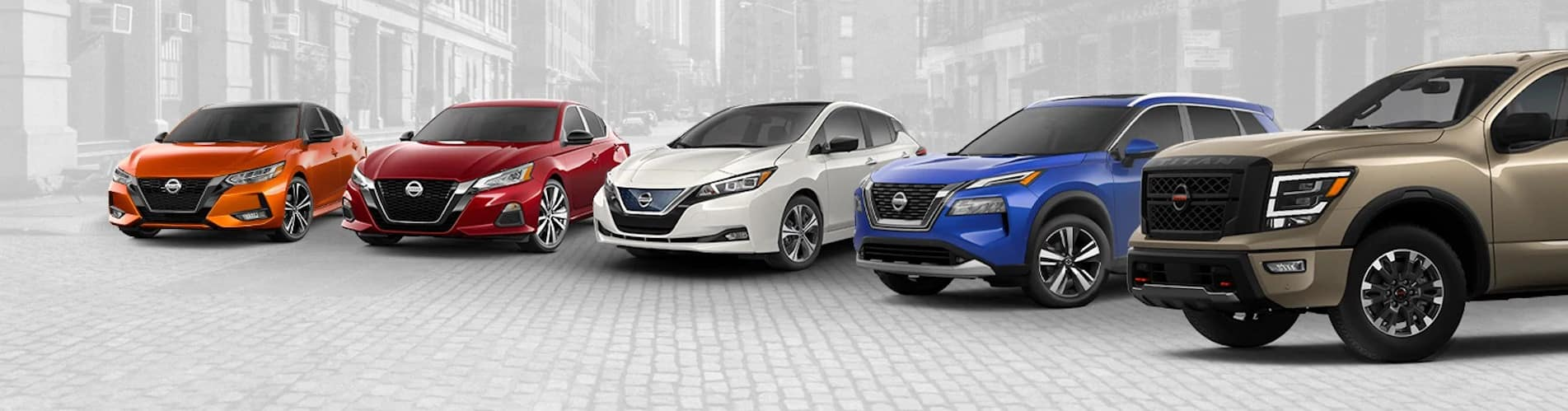 Nissan Model Lineup
