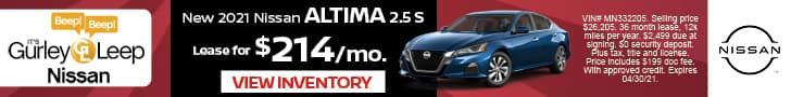 Altima Lease Offer